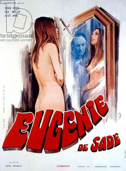 Affiche du film Eugenie de Sade de JesusFranco avec Susan Korday 1970
