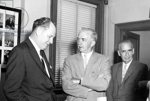 Final meeting of National Advisory Committee for Aeronautics, August 21, 1958