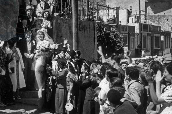 Un de la Canebiere de Rene Pujol avec Henri Alibert, Germaine Roger, 1938.