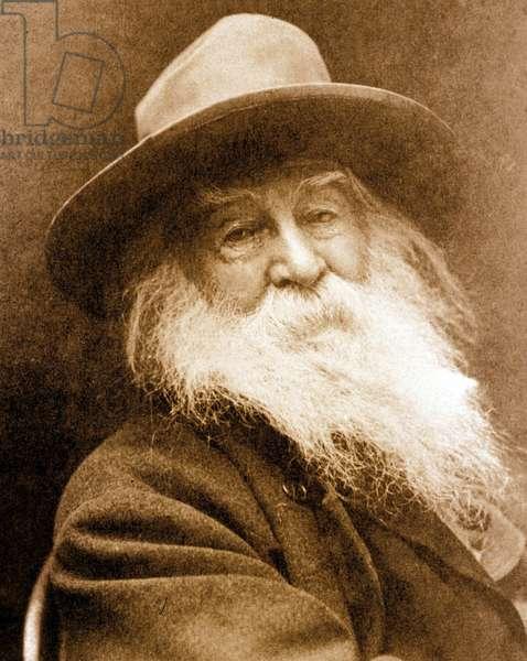 Walt Whitman (1819-1892) American poet and humanist