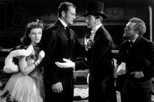 Reap the wild wind by Cecil B DeMille with Paulette Godard, John Wayne, Ray Milland, 1942.