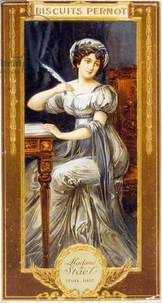 Anne-Louise Germaine Necker, Baroness of Stael-Holstein, known as Madame de Stael (1766-1817), French woman of letters