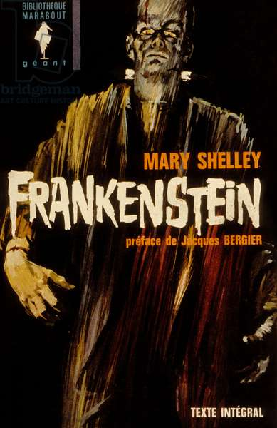 """Cover of book """"Frankenstein"""" by Mary Shelley, 1964"""