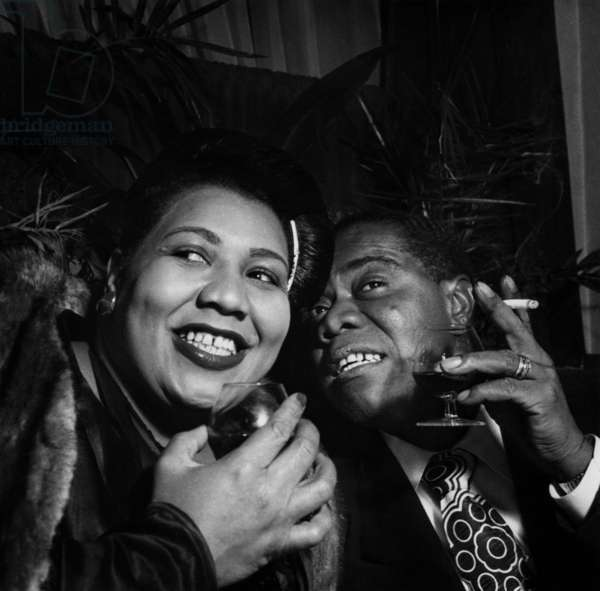 Louis Armstrong with Velma Middleton
