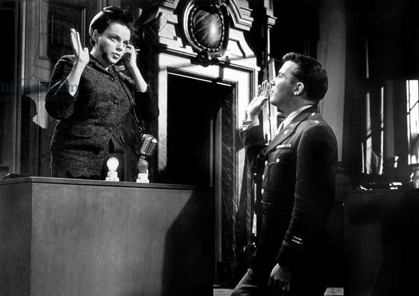 Jugement a Nuremberg Judgement at Nuremberg de StanleyKramer avec Judy Garland et William Shatner 1961