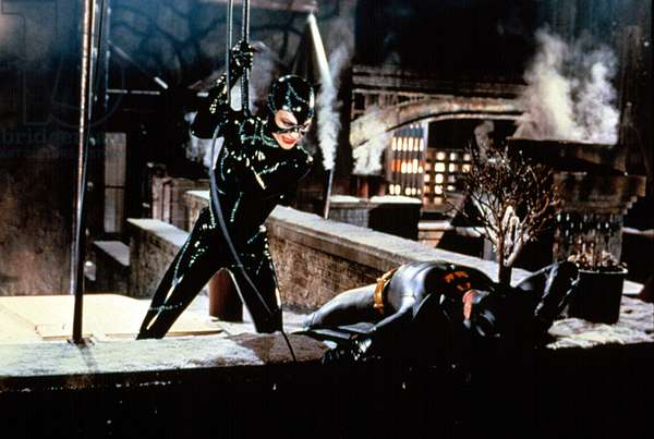 Batman le Defi BATMAN RETURNS de Tim Burton avec Michelle Pfeiffer et Michael Keaton 1992