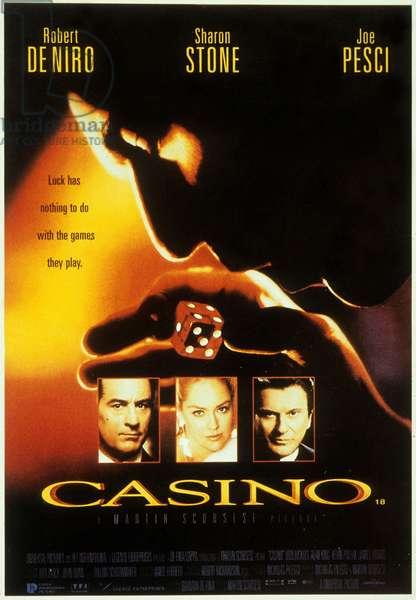 CASINO de Martin Scorsese avec Robert De Niro, Joe Pesci, Sharon Stone, 1995