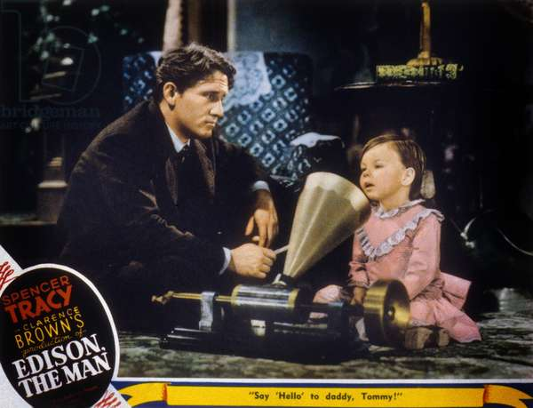 La vie de Thomas Edison Edison the man de ClarenceBrown avec Spencer Tracy 1940