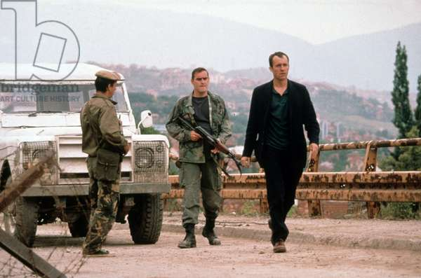 Stephen Dillane dans le film Welcome to Sarajevo de MichaelWinterbottom 1997