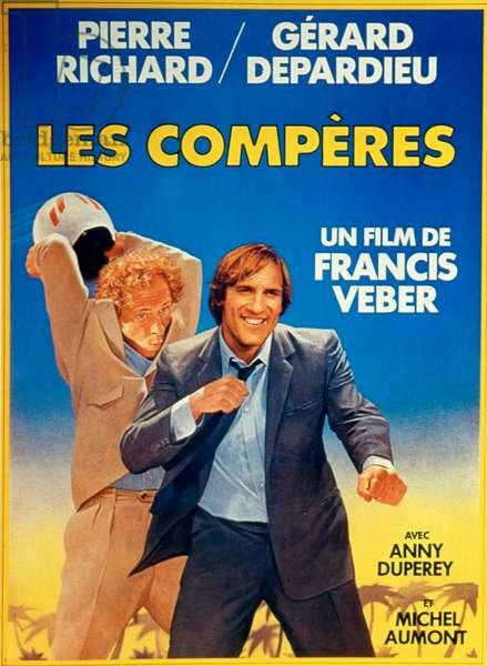 Affiche du film ComDads de FrancisVeber avec Pierre Richard et Gerard Depardieu 1983