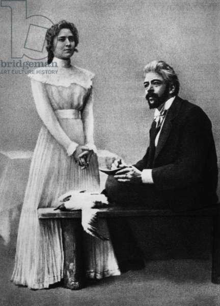 Anton Chekhov's Gull Act II Roxanova and Stanislavsky 1898