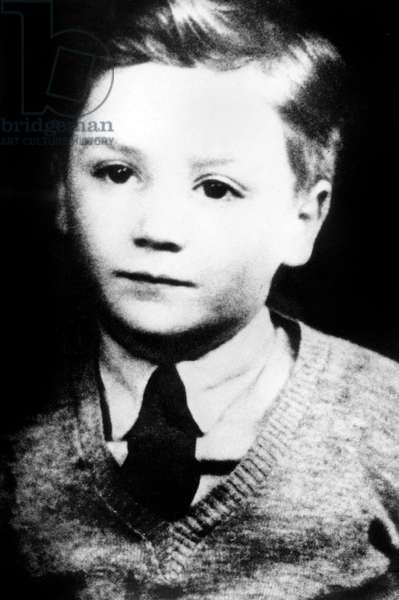John Lennon as a child at primary school c. 1946