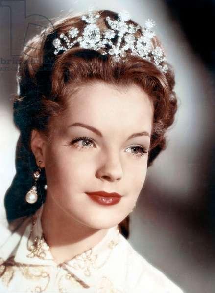 Sissi Imperatrice Sissi, die junge Kaiserin de ErnstMarischka avec Romy Schneider 1956