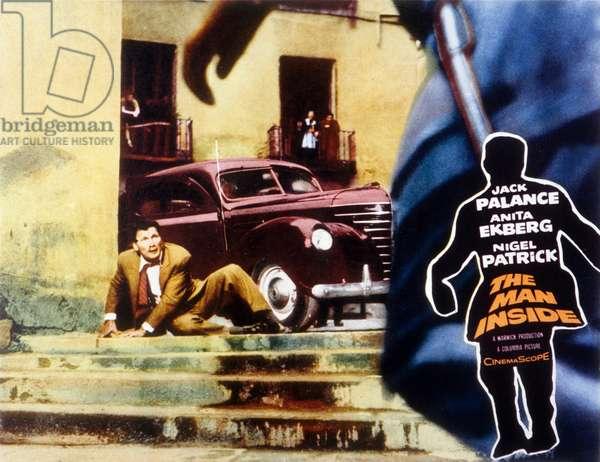 Signes particuliers : neant The Man Inside de John Gilling avec Jack Palance et Anita Ekberg 1958