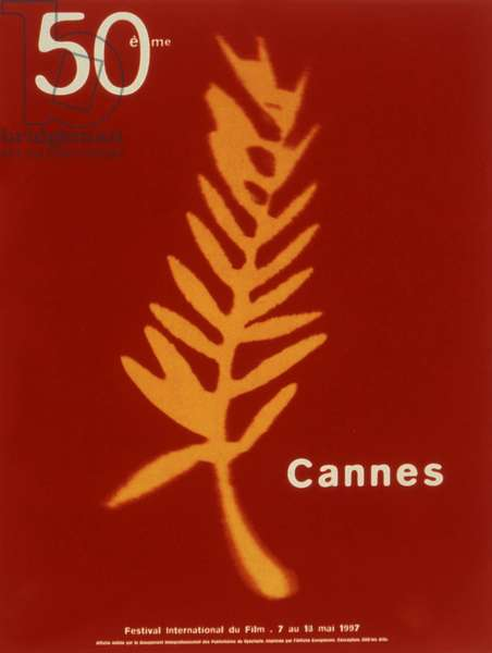 Poster of the 50th Cannes International Film Festival in 1997