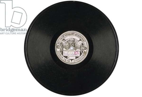 German Vinyl Disc