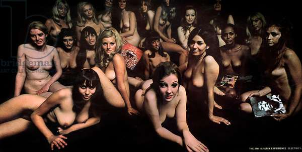 Long-playing record of album Electric Ladyland by The Jimi Hendrix Experience 1978