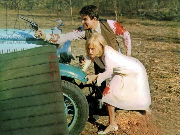 Bonnie and Clyde de ArthurPenn avec Faye Dunaway et Warren Beatty 1967