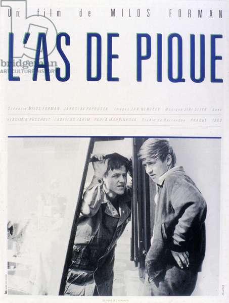 Affiche du film Peter et Pavla de Milos Forman avec Ladislav Jakim, Pavla Martinkova, 1964