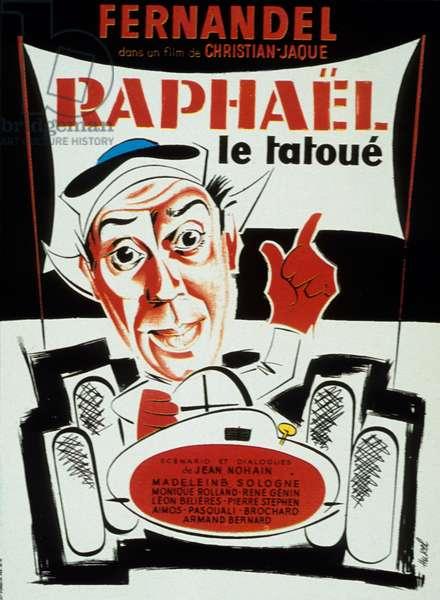 Raphael le tatoue de ChristianJaque avec Fernandel 1939