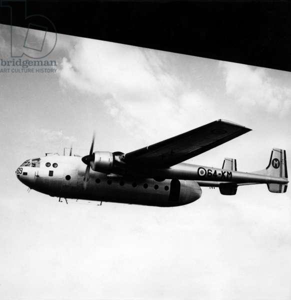Suez crisis : French plane Nordatlas over Egypt, 1956