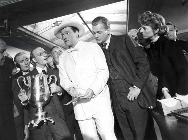CITIZEN KANE de OrsonWelles avec Everett Sloane, Orson Welles, Joseph Cotten, 1941