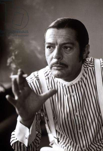 Marcello Mastroianni en 1974