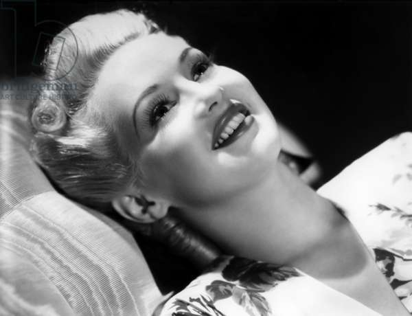 American Actress Betty Grable (1916-1973) c. 1939