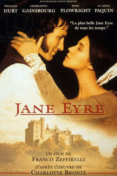 Promotion for the Film of Jane Eyre, directed by Franco Zeffirelli, 1996 (litho)