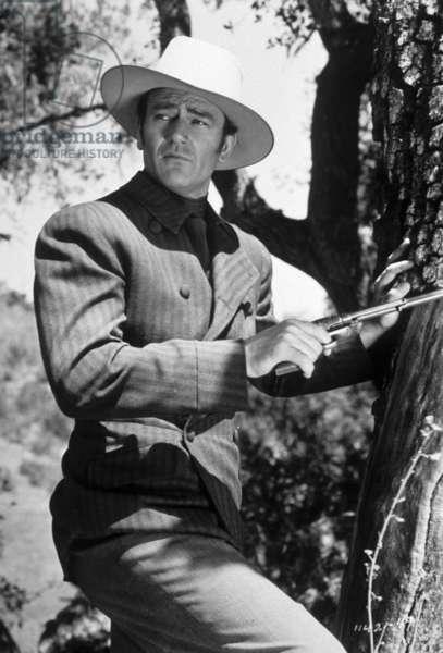 John Wayne dans le film Les ecumeurs (Spoilers) de RAYENRIGHT 1942