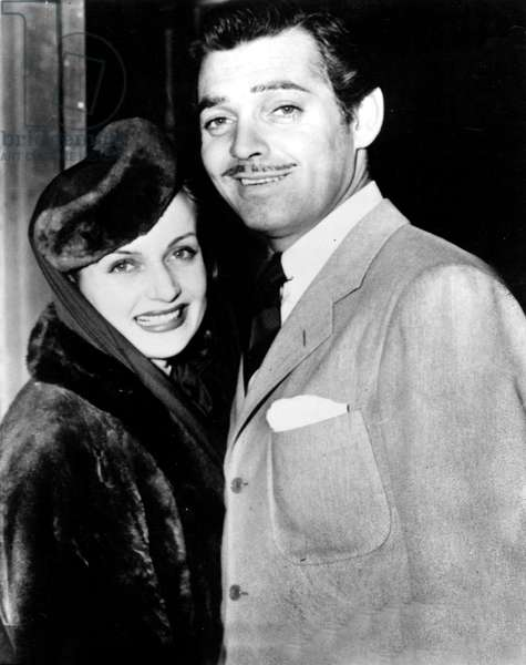 Carole Lombard and Clark Gable in 30's