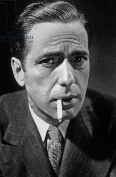 Humphrey DeForest Bogart (1899 - 1957), American Actor.