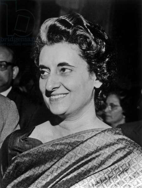 Indira Gandhi in 1966