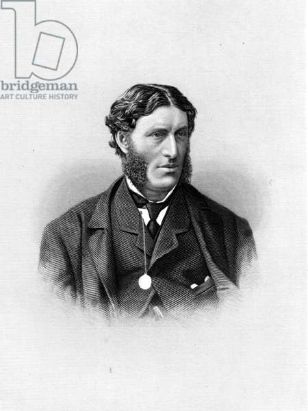 Matthew Arnold (1822-1888) anglsh poet and critic, engraving