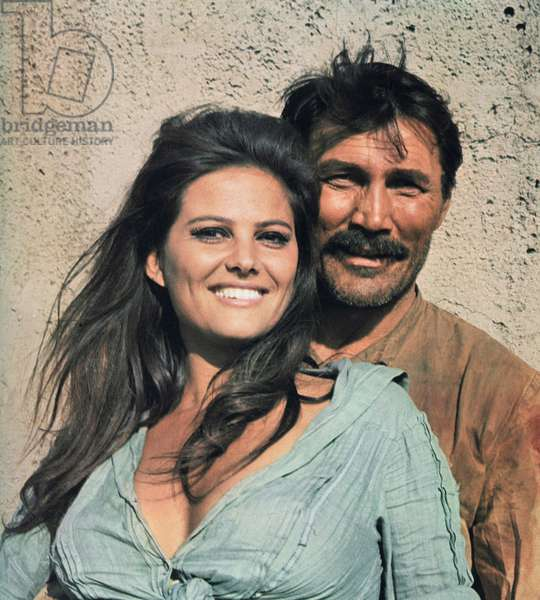 Les professionnels (The Professionals) de Richard Brooks avec Claudia Cardinale et Jack Palance 1966