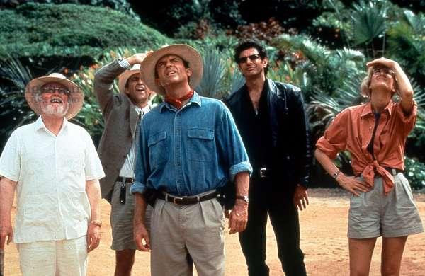 Jurassic Park de StevenSpielberg avec Sam Neill et Laura Dern 1993 (d'apres MichaelCrichton)