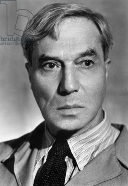 Boris Pasternak (1890-1960), russian writer, here c. 1950
