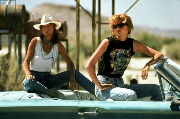 Thelma et Louise THELMA AND LOUISE de RidleyScott avec Susan Sarandon et Geena Davis 1990