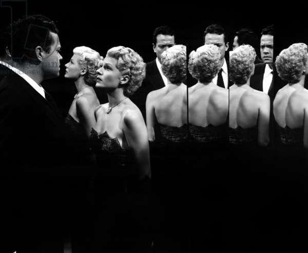 La dame de Shanghai THE LADY FROM SHANGHAI de OrsonWelles avec Orson Welles, Rita Hayworth, 1947