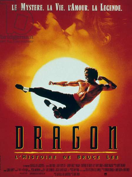 Dragon de LeonardHo avec Bruce Lee 1977