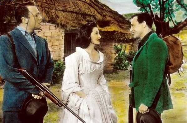 BRIGADOON de VincenteMinnelli avec Cyd Charisse, Gene Kelly, 1954
