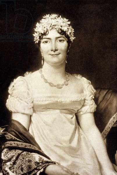 Countess Alexandrine Daru, the wife of Pierre Daru (engraving)