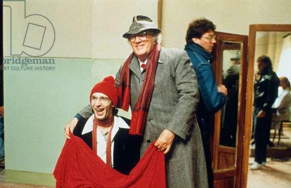La voce della luna de FedericoFellini avec Federico Fellini et Roberto Benigni 1990