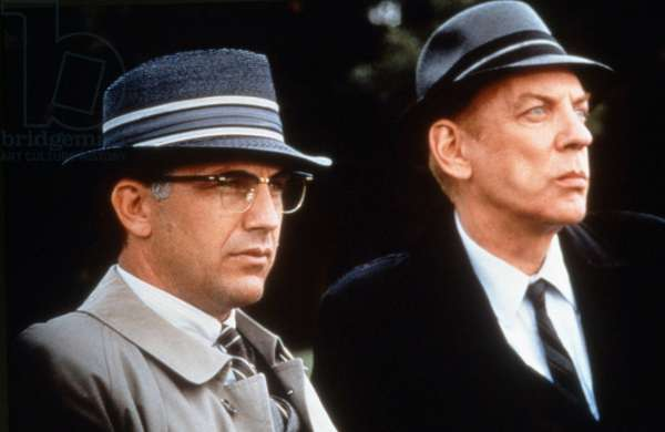 JFK, Kevin Costner, Donald Sutherland, 1991