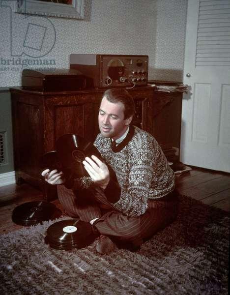 American Actress James Stewart c. 1958