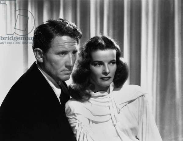 La Flamme sacree Keeper of the Flame de GeorgeCukor avec Spencer Tracy , Katharine Hepburn 1942