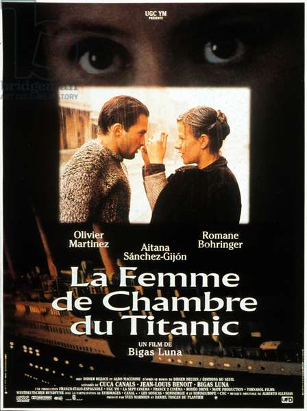 La Femme de chambre du Titanic The Chambermaid on the Titanic de J J Bigas Luna avec Romane Bohringer et Olivier Martinez 1997