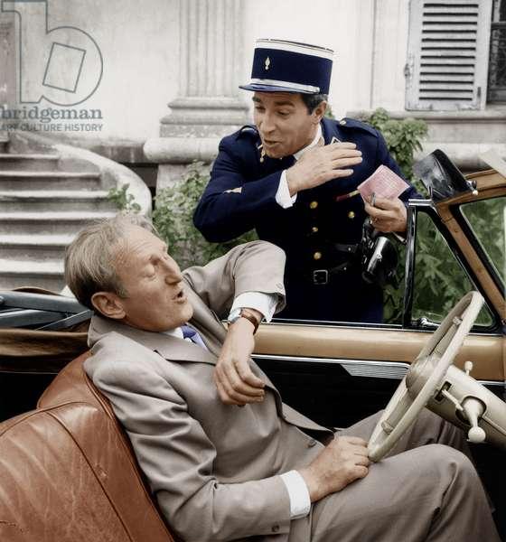 The Big Sare de Jean Pierre Mocky avec Bourvil et Jean Poiret, 22 mai 1964.