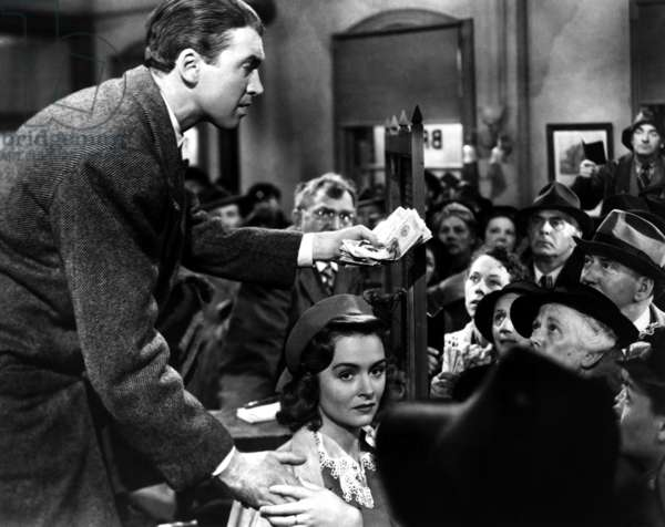 La vie est belle IT'S A WONDERFUL LIFE de FrankCapra avec James Stewart, Thomas Mitchell, Donna Reed, 1946