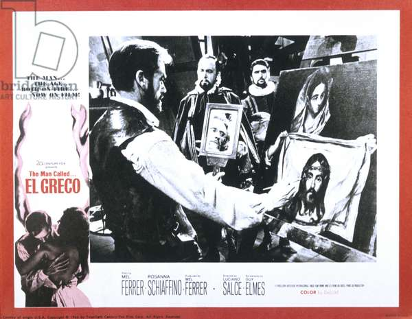 El Greco de LucianoSalce avec Mel Ferrer 1966